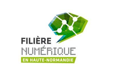 Création logotype Filière Numérique