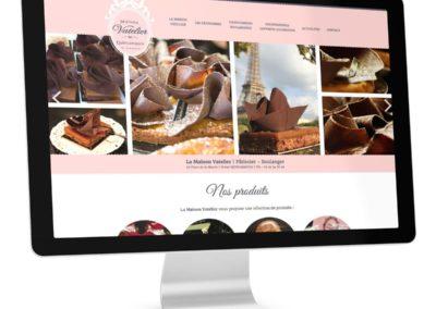 Webdesign Maison-Vatelier-Patissier-Boulanger