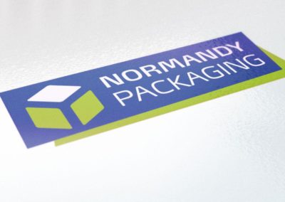 Logotype Normandy Packaging
